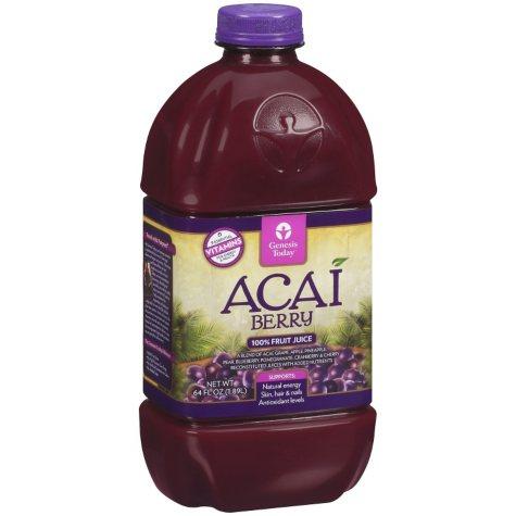 Genesis Today Acai Berry Juice