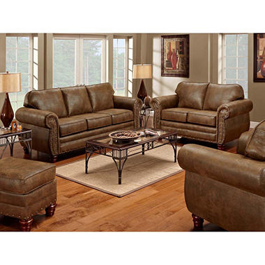 Sedona Sleeper Sofa Loveseat Chair And Ottoman 4 Piece Set