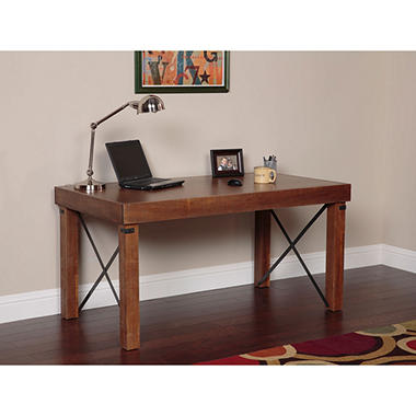 American Furniture Classics Industrial Collection Island Desk