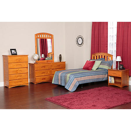 5-Piece Bedroom Set - Twin and Full (Various Colors)