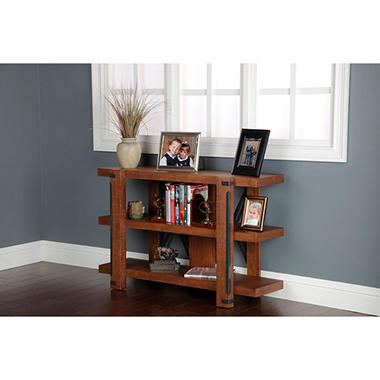 American Furniture Classics Industrial Collection 3 Shelf, 48 inch bookcase