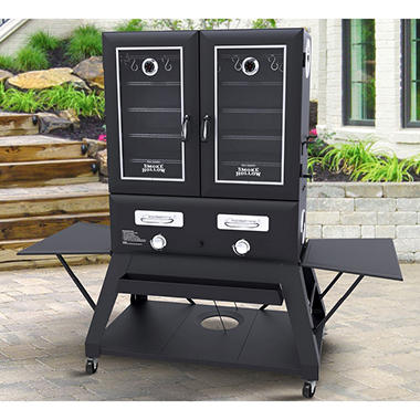EVENT LP GAS SMOKER EXTRA WIDE 2 DOORS