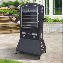 SMOKE HOLLOW Hearth XXL Double Burner LP Gas Smoker