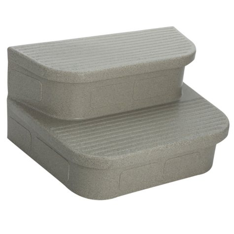 LifeSmart Straight Steps for Rectangular Hot Tubs(303588/303373) (Various Colors)