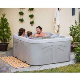 LifeSmart Spa LS100DX 4 Person Plug & Play Hot Tub