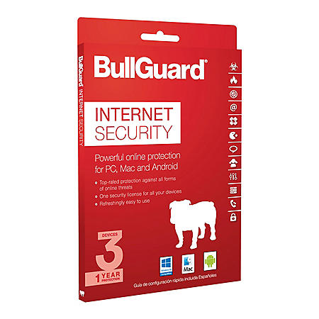 BullGuard Internet Security - 1 Year / 3 Devices