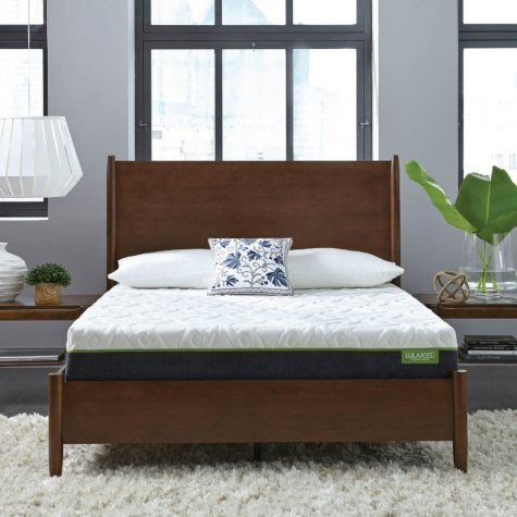 "LulaaBED 10"" Emerald Plush California King Memory Foam Mattress"