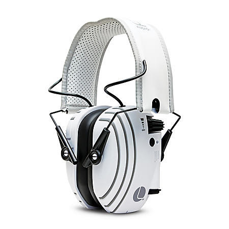 Lucid Audio AMPED Headphones, Bluetooth - White
