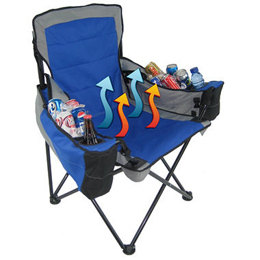 Polar Heat Heated And Cooled Quad Chair With Two Arm Rest