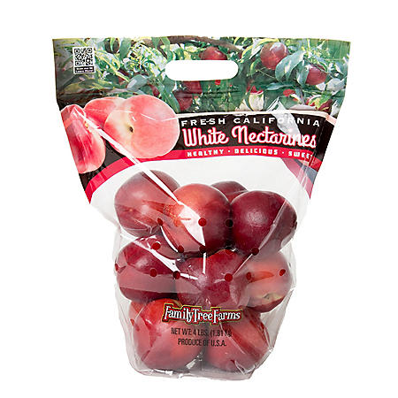 White Nectarines (4 lbs.)