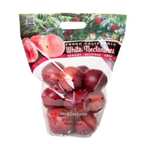 White Nectarines (4 lb. bag)