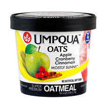 Umpqua Mostly Sunny Apple Cranberry Cinnamon Oatmeal (2.54 oz., 12 ct.)