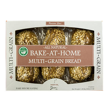 Parisan Star Bake at Home Multi-Grain Bread (3 ct.)