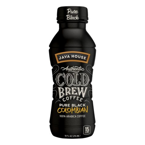 Java House Authentic Cold Brew Coffee (10 oz., 12 pk.)