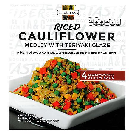 Riced Cauliflower Medley (4 ct., 12 oz.)