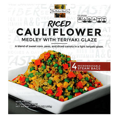 Riced Cauliflower Medley (4 ct., 12 oz.)
