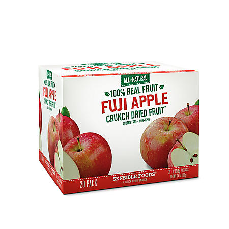 Sensible Foods Fuji Apple Crunch Dried Snacks ( 20 pk.)