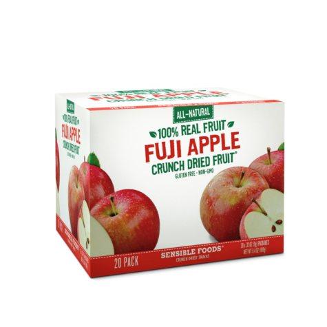 Sensible Foods Fuji Apple Crunch Dried Snacks ( 20 pk.)