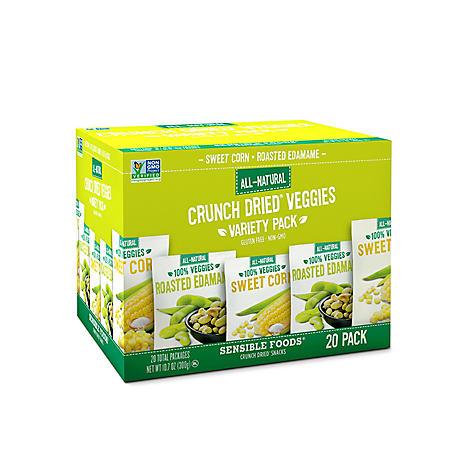 Sensible Foods Crunch Dried Veggies Variety Pack (0.54 oz., 20 ct.)
