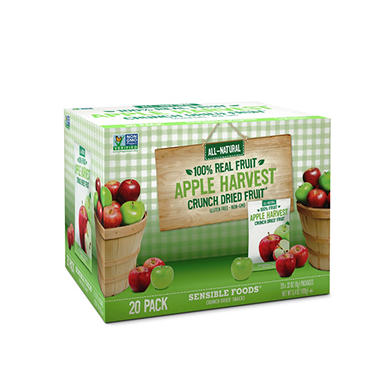 Crunch Dried Apple Harvest Fruit (20 ct.)