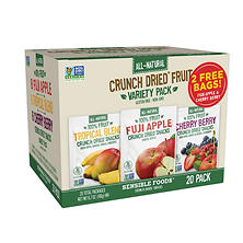 Crunch Dried Fruits Variety Pack (20 ct.)