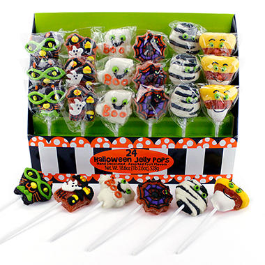 Halloween Lollipops - 24 ct.