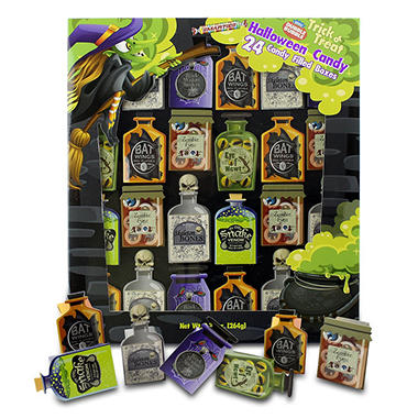 Trick or Treat Halloween Candy Potion Bottles - 24 ct.