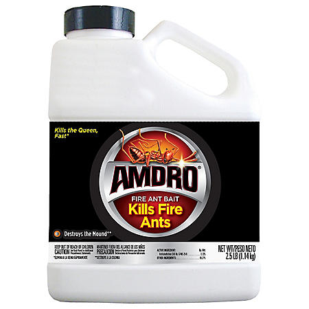 Amdro Fire Ant Bait Mound Treatment Fire Ant Killer, 2.5 Pounds