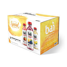Bai Lemonade Antioxidant Infused Variety Pack (18 fl. oz. bottles, 15 pk.)