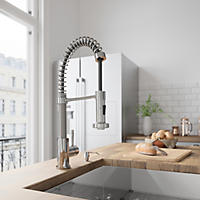 Member S Mark Commercial Kitchen Faucet Chrome Finish Sam S Club