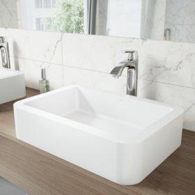 VIGO Linus Bathroom Vessel Faucet - Chrome