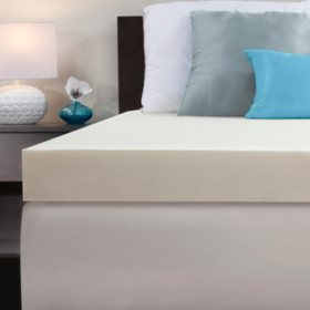 "Dreamfinity 4"" Memory Foam Topper - Various Sizes"