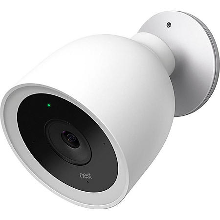Google Nest Cam IQ Outdoor Security Camera (White)