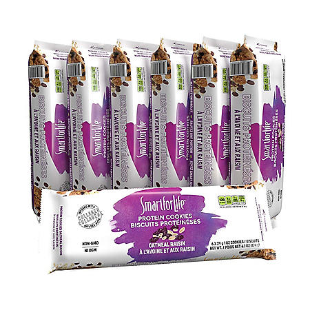 Smart for Life Cookie Diet 7-Day Meal Replacements, Oatmeal Raisin (42 ct.)