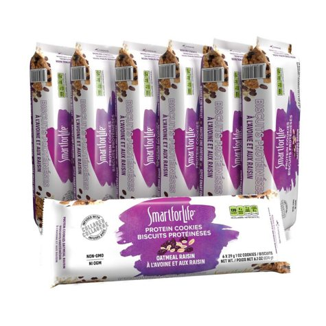 Smart for Life Cookie Diet 7-Day Meal Replacements - Oatmeal Raisin - 42 ct.
