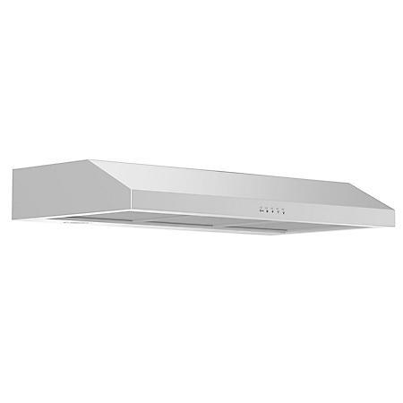 """ZLINE 30"""" 280 CFM Under Cabinet Range Hood in Stainless Steel - Hardwired Power (615-30)"""