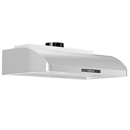 "ZLINE 36"" 900 CFM Under Cabinet Range Hood in Stainless Steel (621-36)"
