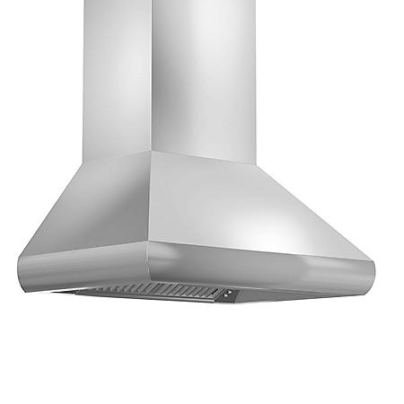 "ZLINE 36"" 1200 CFM Remote Blower Wall Mount Range Hood in Stainless Steel (587-RD-36)"