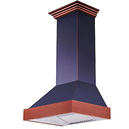 "ZLINE 30"" 900 CFM Designer Series Wall Mount Range Hood (655-BCXXX-30)"