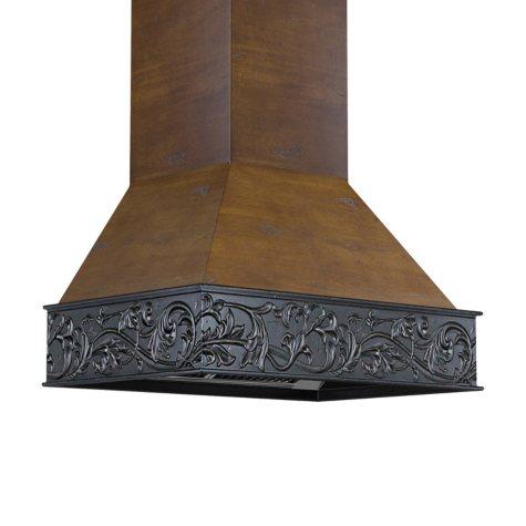 ZLINE 42 in. 1200 CFM Designer Series Wooden Wall-Mount Range Hood