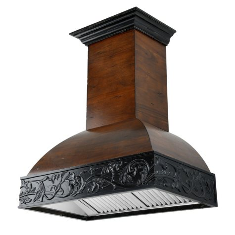 ZLINE 42 in. 1200 CFM Designer Series Wooden Wall-Mount Range Hood