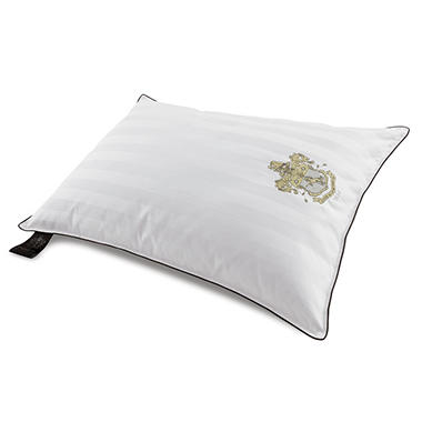 BEHRENS England 1000TC Luxury Sleep Pillow  with Embroidered Crest