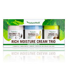 Nature Well Rich Moisture Cream Trio, Various Flavors (8 oz., 3 pk.)