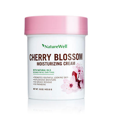 Nature Well Moisturizing Cream, Cherry Blossom (16 oz.)