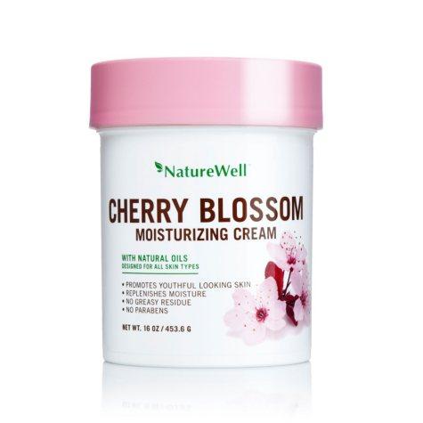 Nature Well Moisturizing Cream, Cherry Blossom (16 oz.)