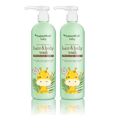 Nature Well Baby 2-in-1 Hair and Body Wash (20 fl. oz., 2 pk.)
