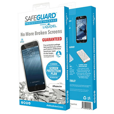 Liquipel Safeguard Protection Bundle for Apple iPhone 6 Plus / 6s Plus