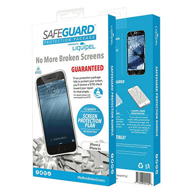 Liquipel Safeguard Protection Bundle for Apple iPhone 6/6s