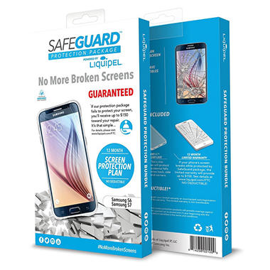 Liquipel Safeguard Protection Bundle for Samsung Galaxy S6/S7