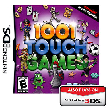 1001 Touch Games - NDS
